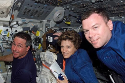 Eileen Collins in Space