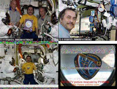 SSTV from ISS