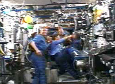STS-121 Bording ISS