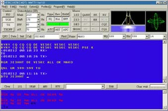 RTTY with Win95/98/ME/NT/2000/XP and Soundcard
