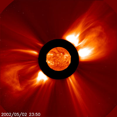 solar coronal mass ejection