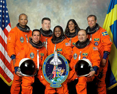 Discovery STS-116 Team