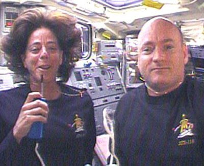 Barbara Morgan & Scott Kelly
