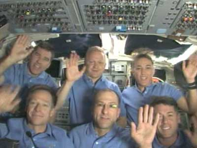 STS-126 Thanksgiving Day